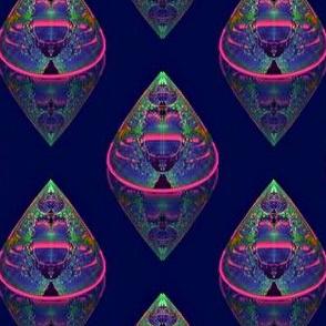 Fractal Opal Paper Weights