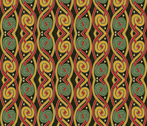 celtique 16 fabric by hypersphere on Spoonflower - custom fabric