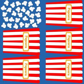 Patriotic Popcorn Flag