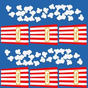 Patriotic Popcorn Stripes
