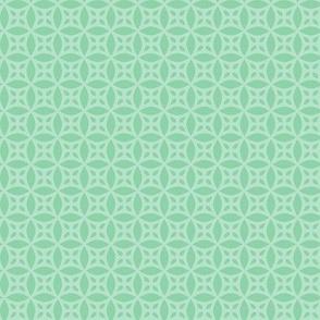 Mint Green Floral