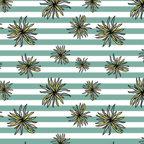 Flowers and stripes - Blooms between collection