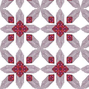Boho pattern - Ibiza vibes collection
