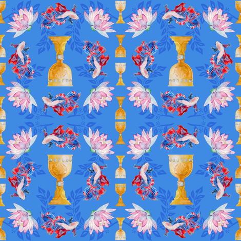 Cups  fabric by moon_hart on Spoonflower - custom fabric