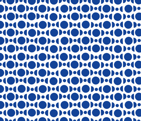 blue candy pattern fabric by turbo1019 on Spoonflower - custom fabric