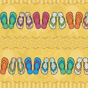Flip Flop Stripes - Bright