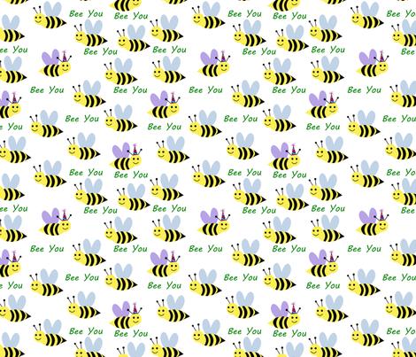 bee you fabric by pamelachi on Spoonflower - custom fabric