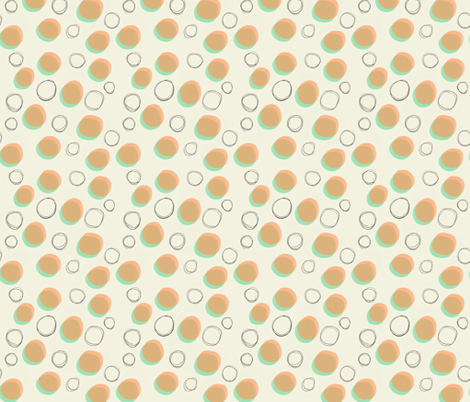 moody_nineties_polka_dot fabric by nikalola on Spoonflower - custom fabric