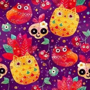 cat_fruits_pattern