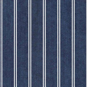 jeans with stripes