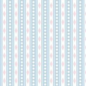 spots & stripes Blue