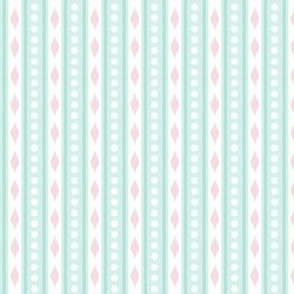 spots & stripes Aqua