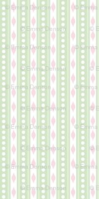 spots & stripes Green