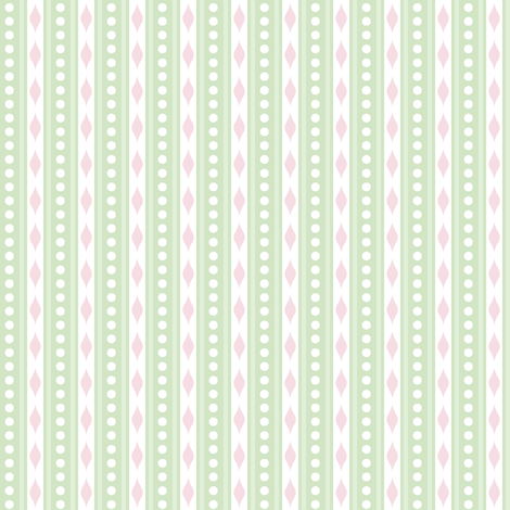 spots & stripes Green fabric by woodmouse&bobbit on Spoonflower - custom fabric