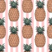 Pineapples & Stripes