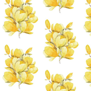 Yellow Magnolia Spring Bouquet