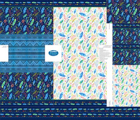Tote/Pouch - Boho fabric by malibu_creative on Spoonflower - custom fabric