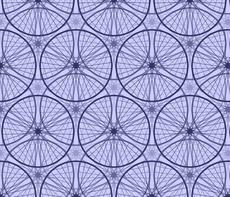 06592410 : wheels : lavender lane fabric by sef on Spoonflower - custom fabric