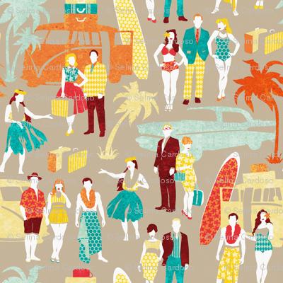 Hawaii elegance in action 3 // beije background