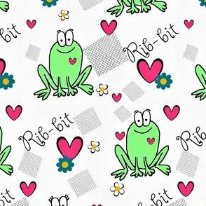 Frog Love ,Patch it up! Rib-bit