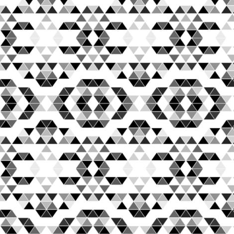 Gray Print fabric by jenfur on Spoonflower - custom fabric
