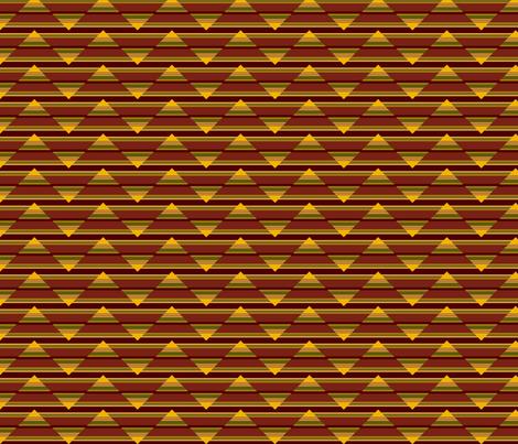 SW_stripe_horizontal_zig-zag fabric by thatswho on Spoonflower - custom fabric
