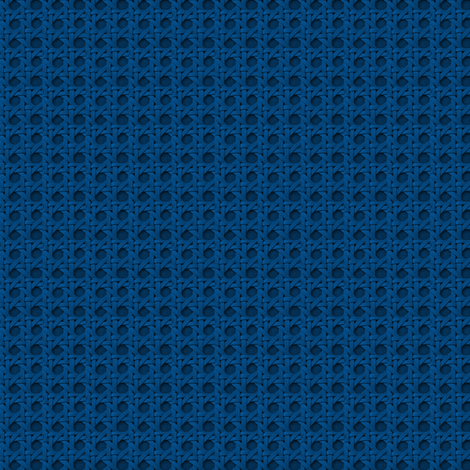 bluewickerweave fabric by jenfur on Spoonflower - custom fabric