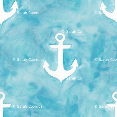 Watercolor Anchors I