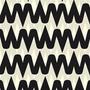 shape and wavy pattern