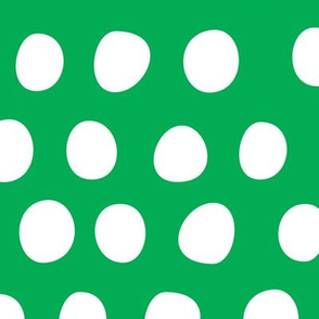 Circus_Ballown_Polka_Dots_green