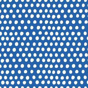 Circus Balloon Polka Dots Tiny Blue