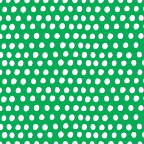 Circus Balloon Polka Dots Tiny Green