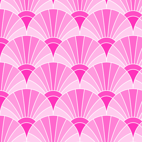 06594946 : fan scale : pink campion fabric by sef on Spoonflower - custom fabric