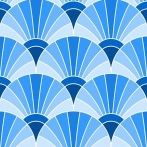 06594948 : fan scale : azure blue
