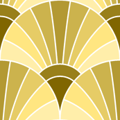 06594950 : fan scale : gold ochre