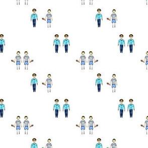 Boys pattern