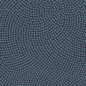 Fibonacci-flower polkadots - slate on navy