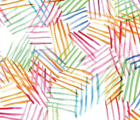 Watercolor Abstract Stripes fabric by casey_belle_ on Spoonflower - custom fabric