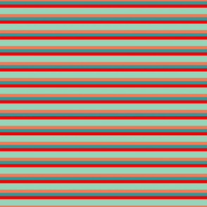 Teal_and_Coral_Skinny_Stripes