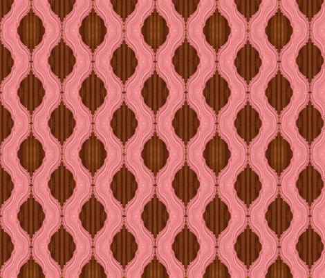 Fractal Adobe Trellis on Wood fabric by anneostroff on Spoonflower - custom fabric