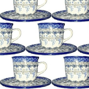 Polish teacup
