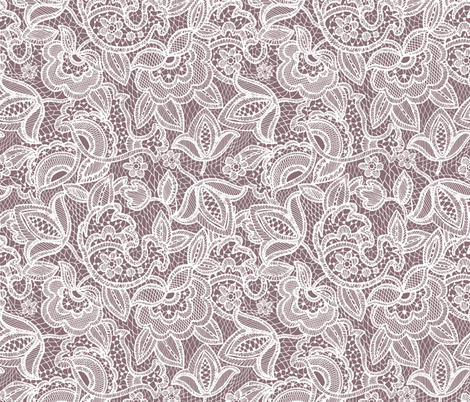 lace // heather fabric by ivieclothco on Spoonflower - custom fabric