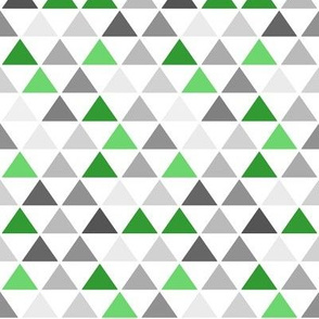 Green Gray Triangle
