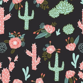cactus flowers cute girls cacti pink mint cactus and flowers cactus flowers