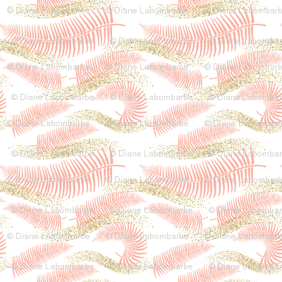 Summer Gold - Pink Ferns