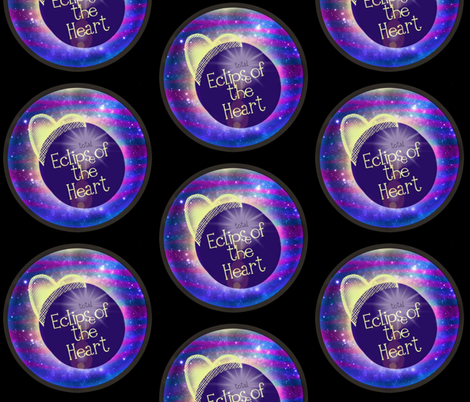 Total Eclipse  fabric by franbail on Spoonflower - custom fabric