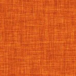 linen solid // tangerine