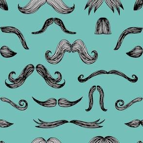 Mustachio (turquoise)
