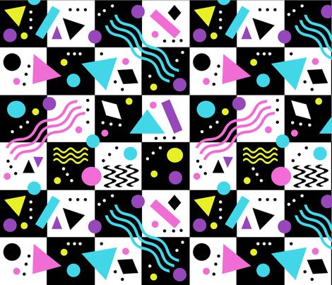 memphis_12x12 fabric by leroyj on Spoonflower - custom fabric