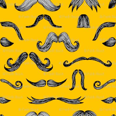 Mustachio (yellow)